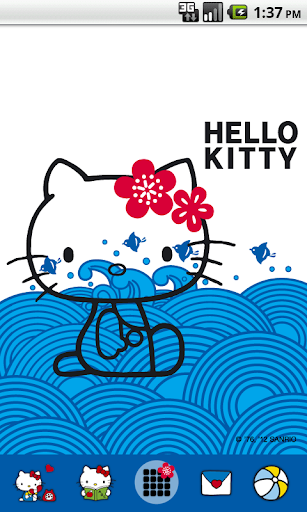 Hello Kitty WavesFun Theme