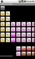 Screenshot of Tabela Periódica