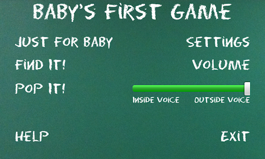 Baby's First Game- screenshot thumbnail