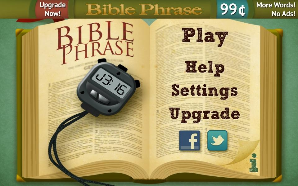 Bible Phrase Free - screenshot