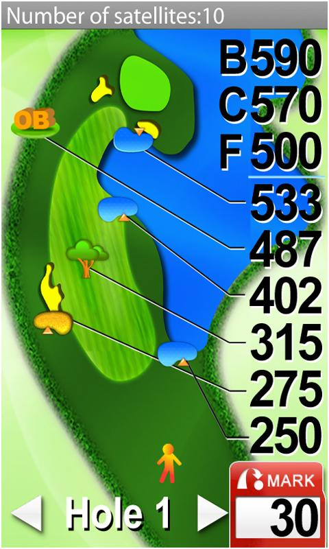 Sonocaddie Golf GPS - screenshot