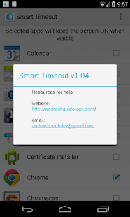 Smart Timeout Keep Screen On- screenshot thumbnail