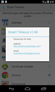 Smart Timeout Keep Screen On - screenshot thumbnail