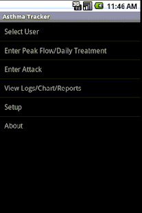 Asthma Tracker & Log MultiUser- screenshot thumbnail