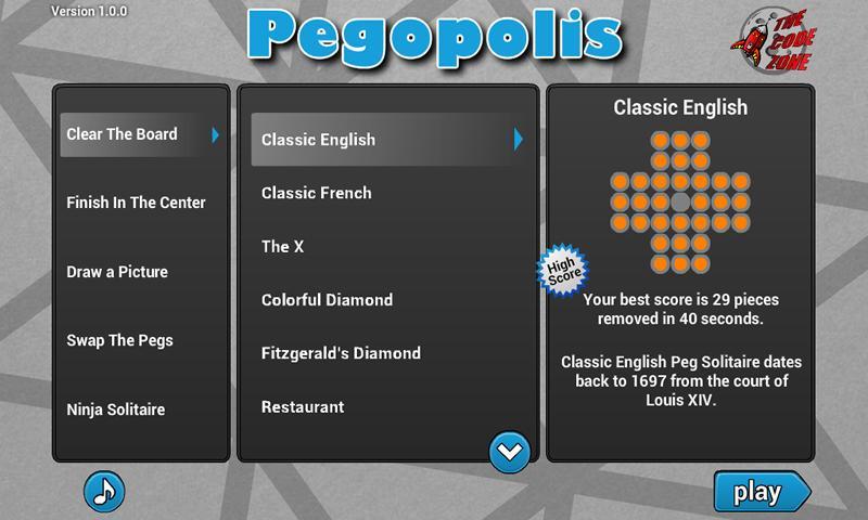 Pegopolis- screenshot