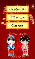 Screenshot of Lời chúc Tết Việt Nam