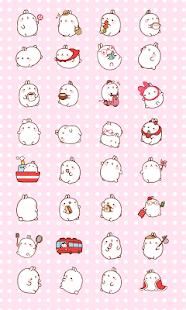 CUKI Theme Cute bunny molang
