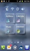 Screenshot of GlassTransparency Free Theme