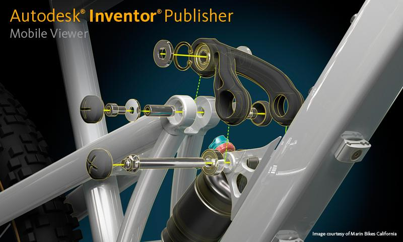 Inventor Publisher Viewer - screenshot