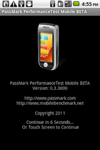 PassMark PerformanceTest - screenshot thumbnail