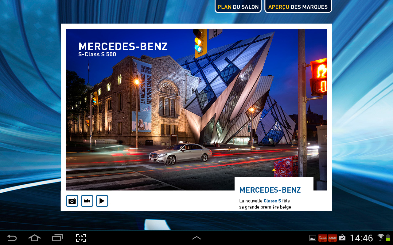 Salon de l'auto 2014- screenshot