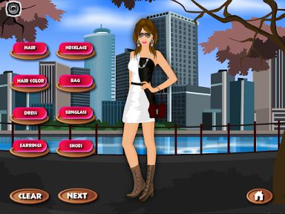 游戏的女孩时尚