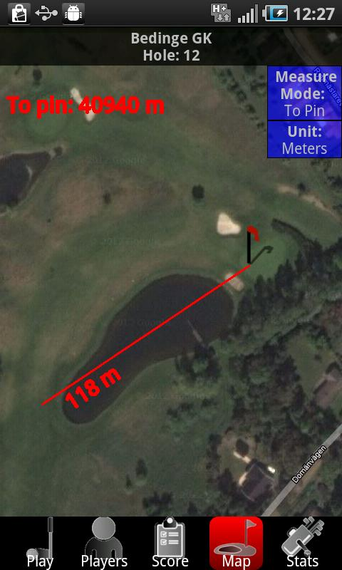 Golf Companion - Golf GPS Demo- screenshot