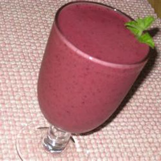 Super Healthy Fruit Smoothie.