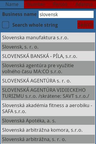Slovak Business Register