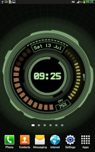 AHL Sci-Fi System Clock (Pro)- screenshot thumbnail