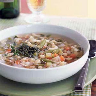Vegetable Soup with Pistou Recipe