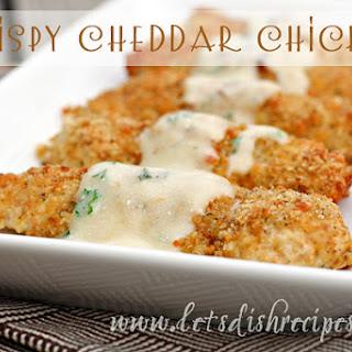 Crispy Cheddar Chicken.