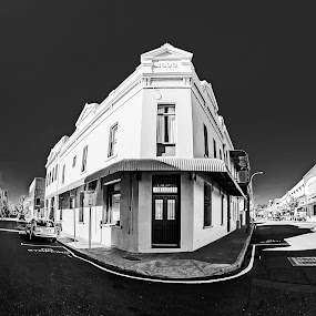 by Barry Ooi - Black & White Buildings & Architecture