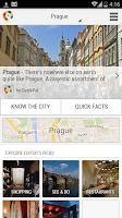 Screenshot of Prague City Guide