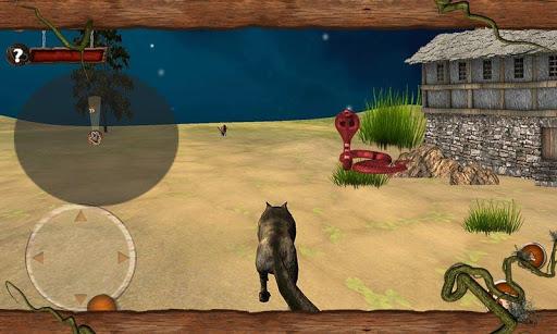 無料模拟Appの野生の怒っている灰色オオカミの攻撃|記事Game