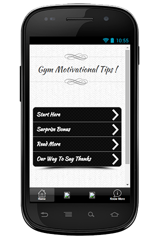 Gym Motivational Tips