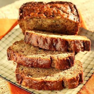Cinnamon Chocolate Banana Bread with Toffee