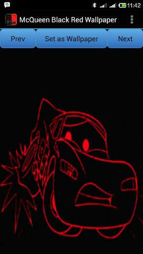 Mcqueen black red wallpaper