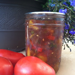 Canning Fruit Salsa - Peachy Salsa