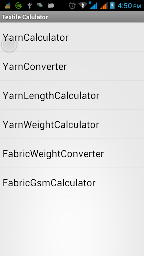 Textile Yarn Calculator