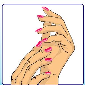 Красивый маникюр ногтей игры