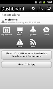 2012 WFF Annual Conference - screenshot thumbnail