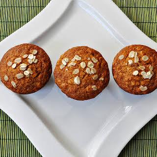 Honey Oat Muffins.