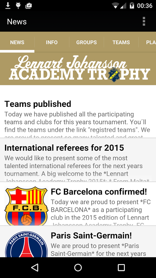 LJ Academy Trophy- screenshot
