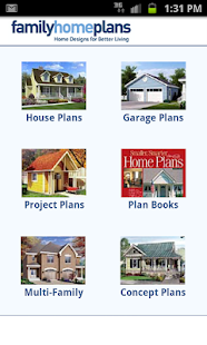 House Plans by FamilyHomePlans - screenshot thumbnail