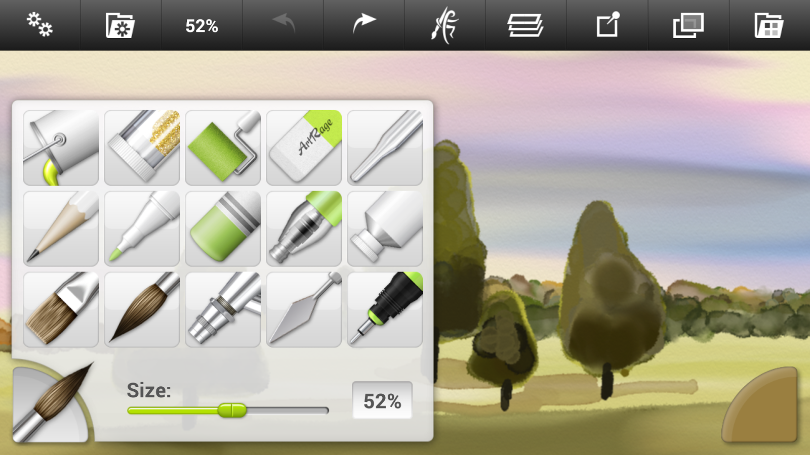 ArtRage: Draw, Paint, Create- screenshot