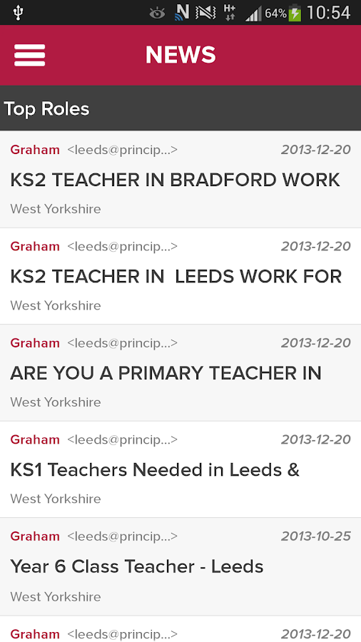 Education Jobs - Principal - screenshot