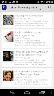 Leiden Univ - screenshot thumbnail