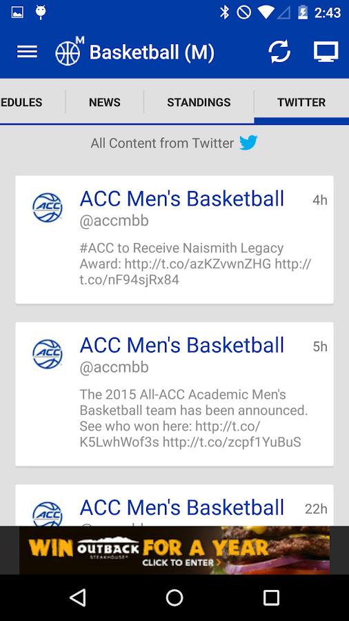 ACC Sports - screenshot