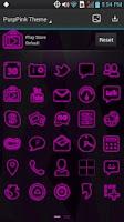 Screenshot of Next Launcher - PurpPink Theme