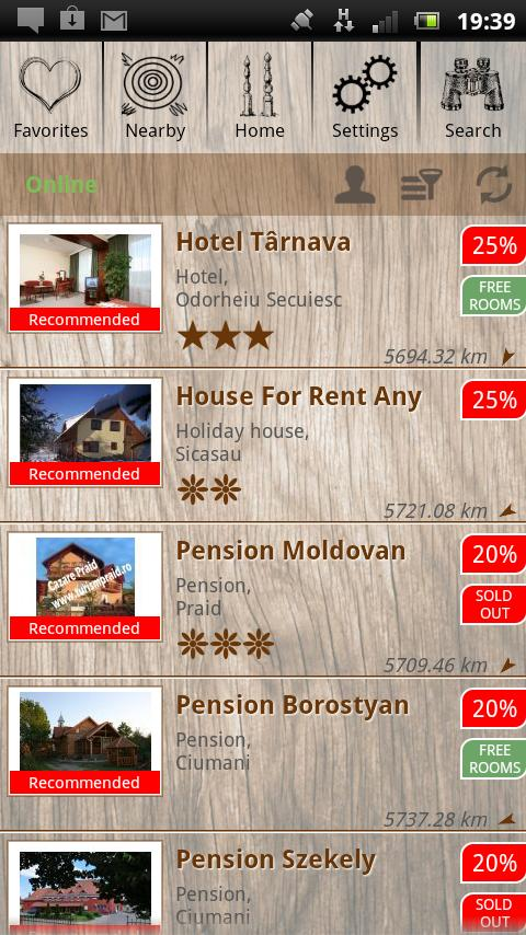 Szekler Land Virtual Passport- screenshot