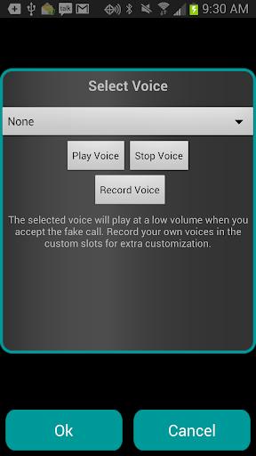 Fake-A-Call Free screenshot 4