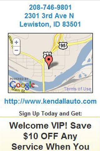 Kendall Chevy Subaru Lewiston- screenshot