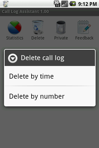 Call Log Assistant - screenshot