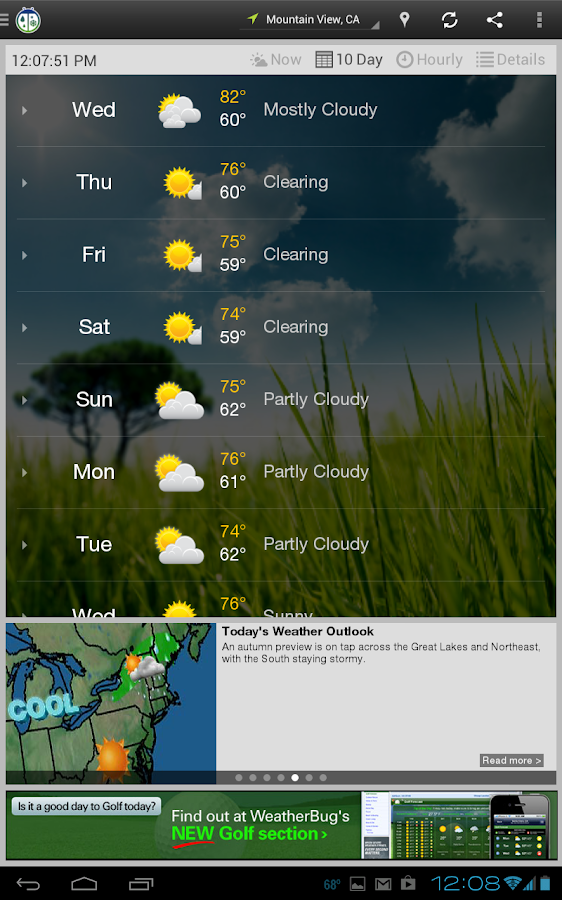 WeatherBug - screenshot