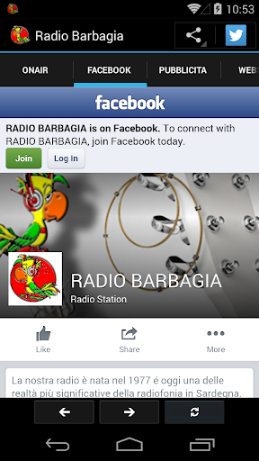 【免費音樂App】Radio Barbagia-APP點子