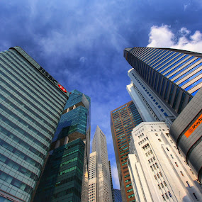 A view from the ground. by Shahrul A Hamid - Buildings & Architecture Office Buildings & Hotels