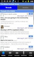 Screenshot of A Manchester City Forum