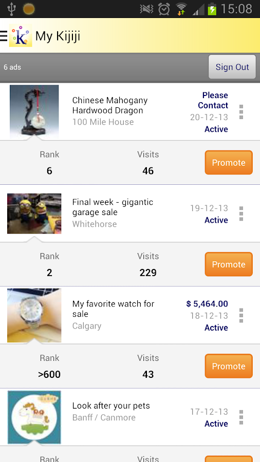 Kijiji Free Local Classifieds - screenshot