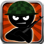 Army Stickman Shooter Game